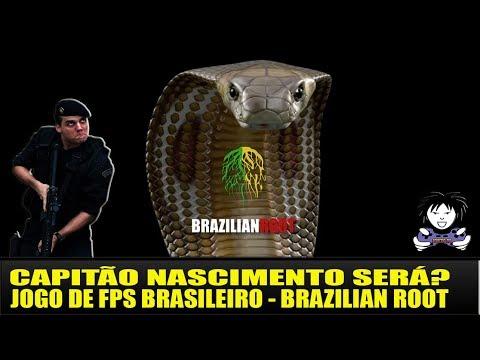 CAPITÃO NASCIMENTO SERÁ? JOGO DE FPS BRASILEIRO - BRAZILIAN ROOT