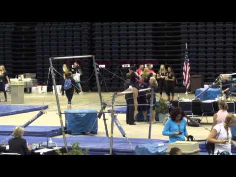 Grace Lim | USAG Level 3 Gymnastics Uneven Bars With Kip |Daytona Beach Bash 2015