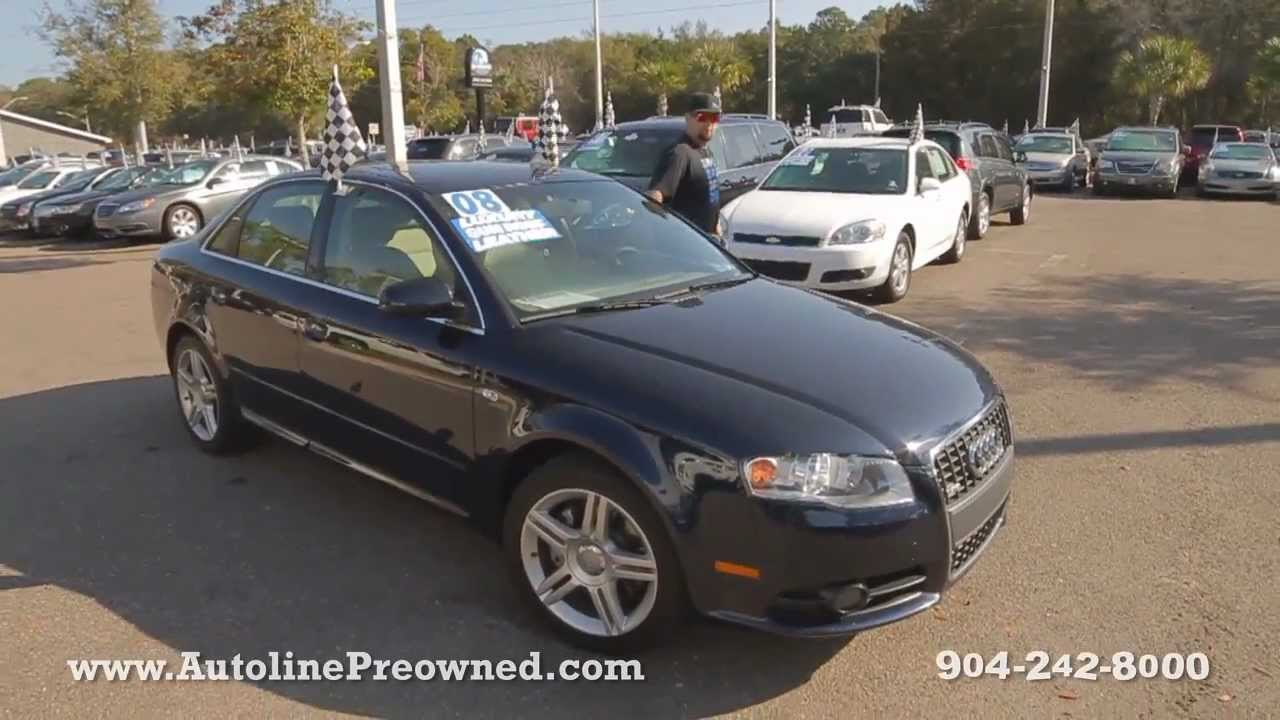 Autoline S 2008 Audi A4 2 0t Special Edition Walk Around