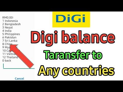 Digi Balance transfer to any country digi se credit transfer kaise kare nepal