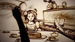 """Песочное шоу «Вернуть Детство» - sand animation """"To Return Childhood"""""""