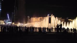 Dubajská fontána/The Dubai Fountain - Mon Amour