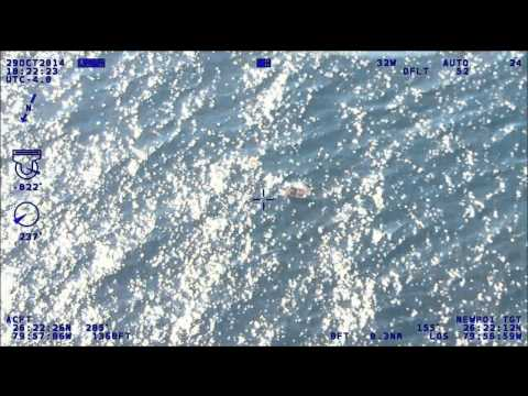 PBSO Marine and Aviation Unit assisted the U.S. Coast Guard with Capsized Vessel