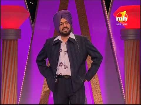 The Great Punjabi Comedy Show   Excellent Comedy Of Gurpreet Ghuggi   Comedy Show   MH ONE Music