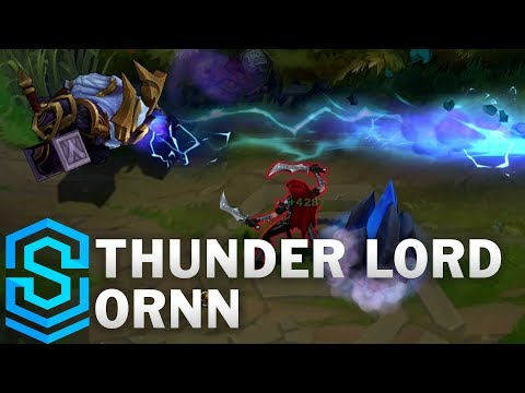 Thunder Lord Ornn Skin Spotlight - League of Legends