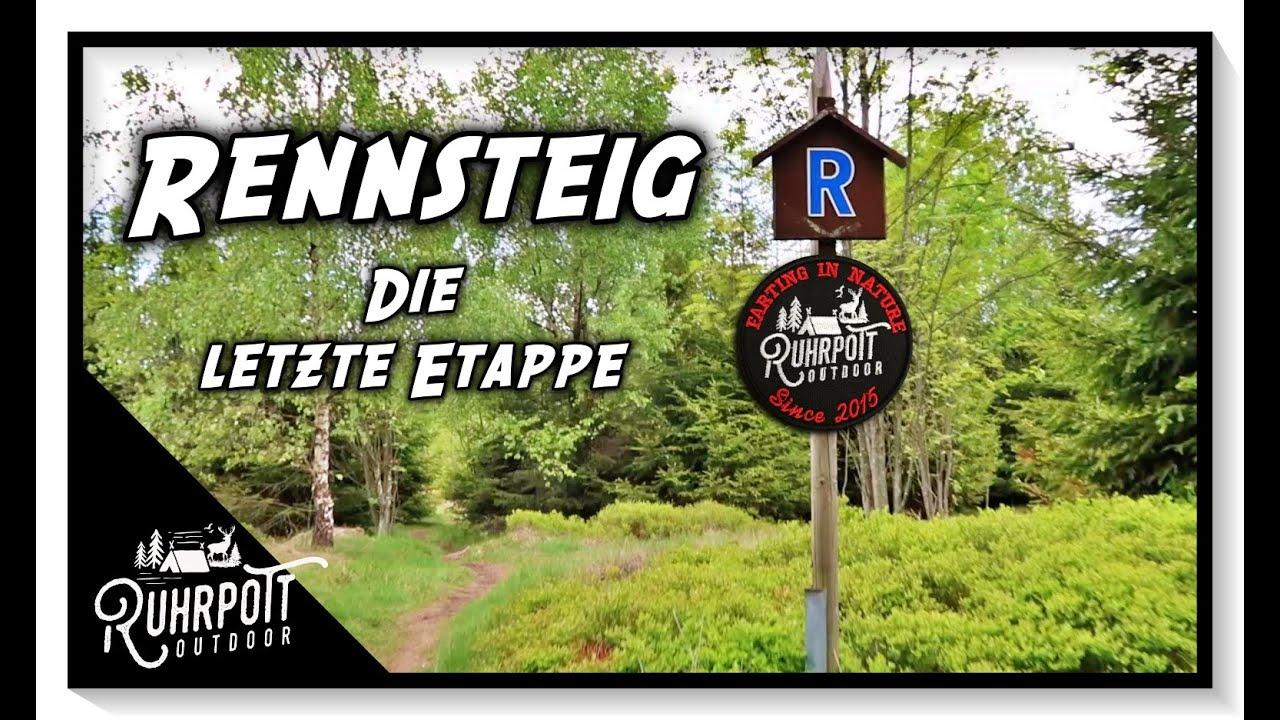 Letzte Etappe des Rennsteigs - Ruhrpott Outdoor