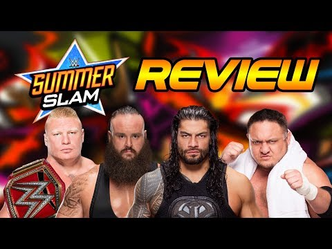 WWE Summerslam 2017 Review | Wrestling...