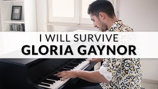 Gloria Gaynor -  I Will Survive | Piano Cover