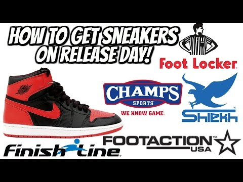 HOW TO GET SNEAKERS ON RELEASE DATE!