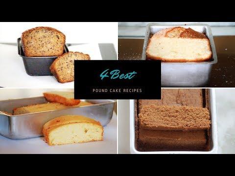 4 Best Pound Cake Recipes - Pound Cake Recipes