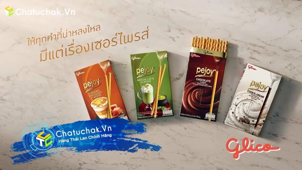 【Chatuchak.Vn】Bánh Que Socola Pejoy Lion Thái Lan   Quảng Cáo Thái Lan