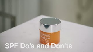 Skin School: The Do's and Don'ts of Sun Protection   Clinique