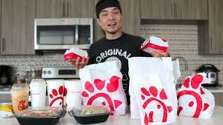 The Chick-Fil-A Full Menu Challenge...