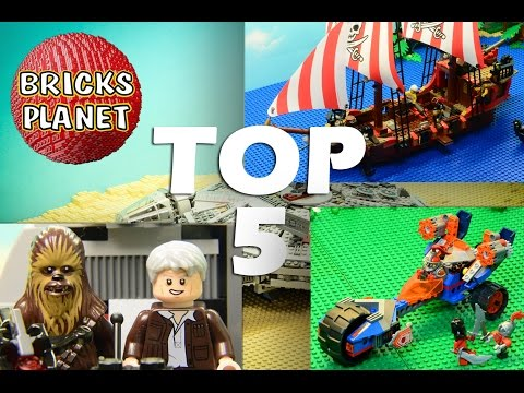 Top 5 Most popular Lego videos 2016 on my channel