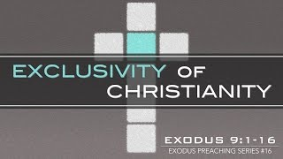 EXCLUSIVITY OF CHRISTIANITY - Pastor Billy Jung (Hope of Glory)