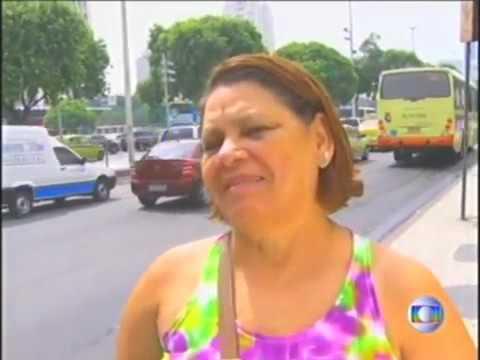 Assaltos no Centro do Rio Reportagem Jornal da Globo 9/4/2014