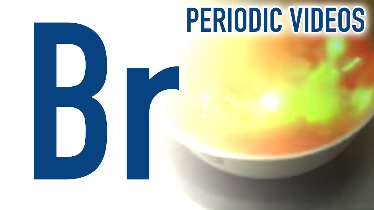 Bromine periodic table of videos youtube bromine periodic table of videos gamestrikefo Gallery