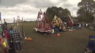 Bullock Creek Catapult/trebuchet Competition 2013 Punkin' Chunkin'