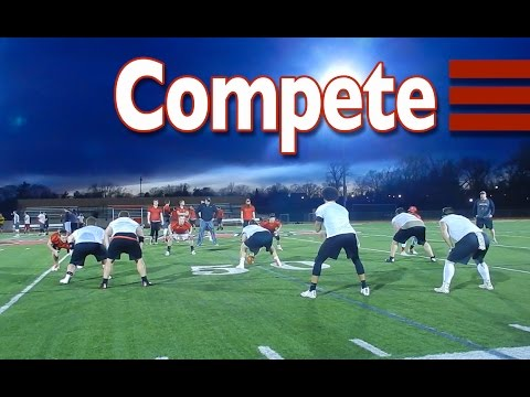 Competitive Drills at Practice