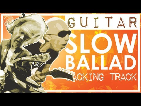 Ballad Backing Track in C | Neil Young and Satriani Style