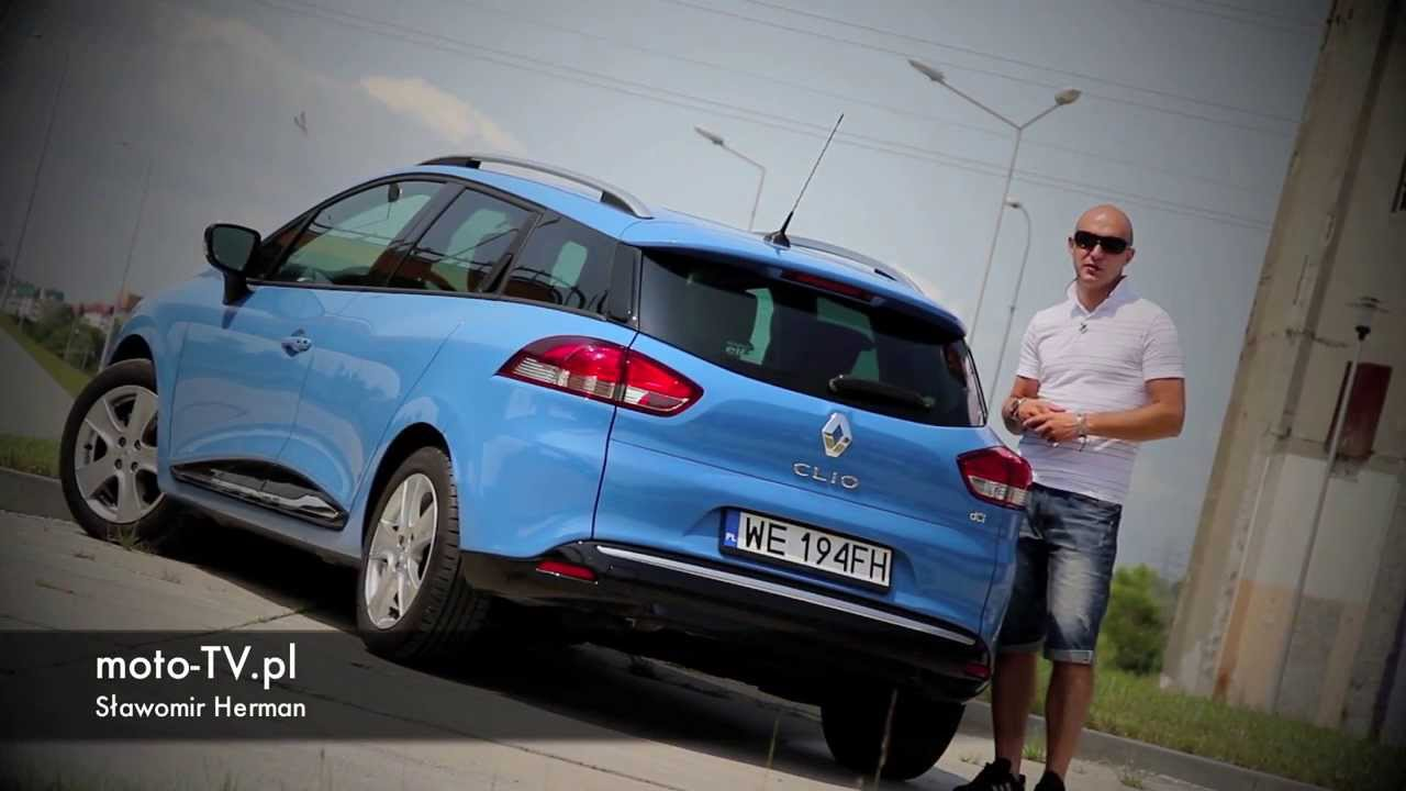 renault clio iv grandtour 1 5 dci test moto youtube. Black Bedroom Furniture Sets. Home Design Ideas
