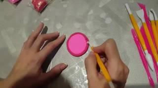МК Полимерная глина. Урок 2. Лепим магнит