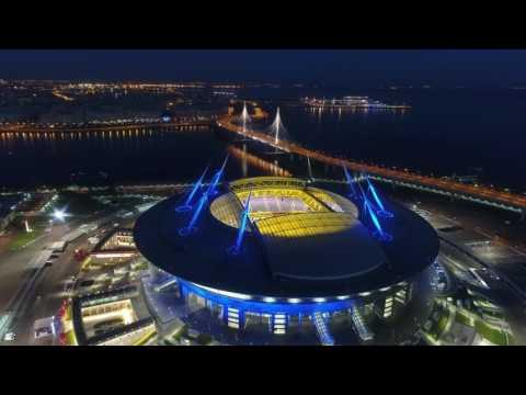 Смотреть Зенит Арена 4к видео онлайн