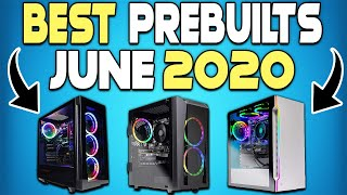 Top 5 Best Pre-Built Gaming PCs You Can Buy Right Now on Amazon - June 2020