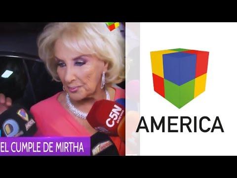 Todo lo que no se vio del cumpleaños de los 90 años de Mirtha Legrand