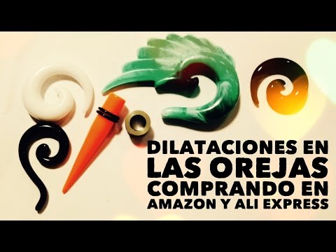 Tutorial dilataciones de las orejas: rehaciéndolas y comprando material en Amazon y Ali Express from YouTube · Duration:  10 minutes 23 seconds