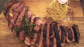 Download GIANT STEAK & Garlic Noodles in Southern California Mp3 and Videos