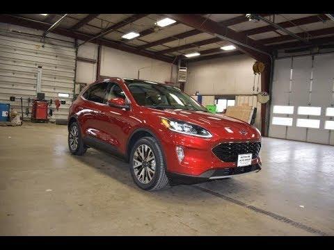 2020 Rapid Red Metallic Ford Escape Titanium FT6787 Motor Inn Auto Group