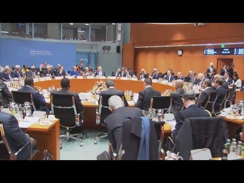 Η διάσκεψη του Βερολίνου για τη Λιβύη-πλάνα