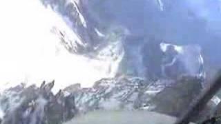 Hunter in alps