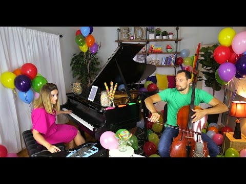 Pure Imagination (Willy Wonka and the Chocolate Factory Theme) - Cello + Piano Cover by Brooklyn Duo en streaming