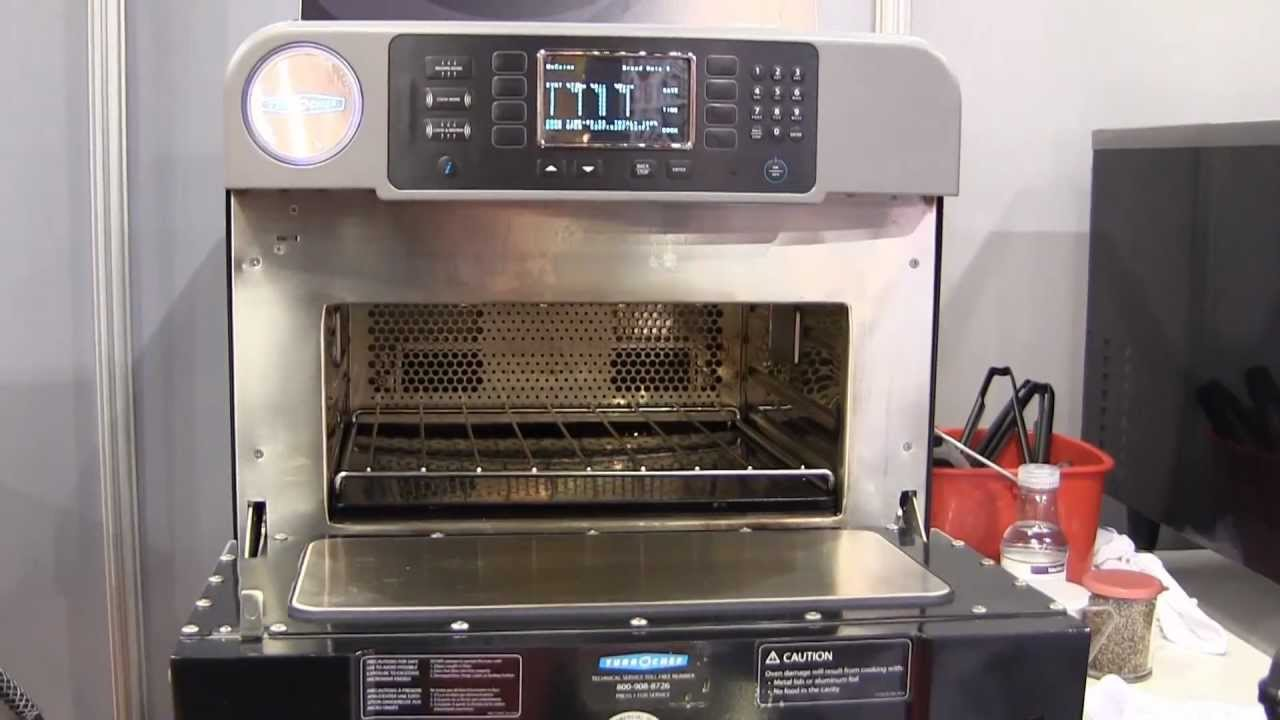 Turbochef 174 Encore High Speed Convection Microwave Youtube