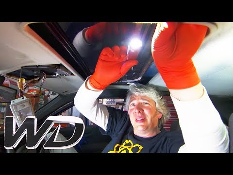 Edd Explains How To Fix The Sunroof Of A VW Corrado | Wheeler Dealers