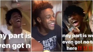 Even though they are in China, Bronny makes his teammates go Nuts because it's Taco Tuesday !