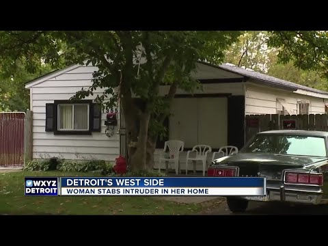 Detroit man stabs suspect who broke into his home