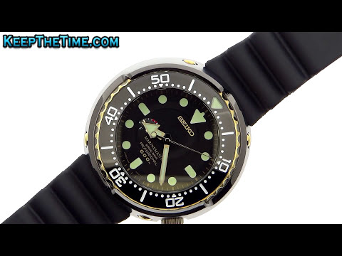 Seiko Prospex Golden Tuna | KeepTheTime.com
