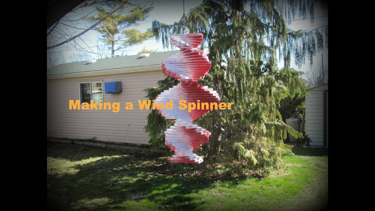Making a Wind Spinner - YouTube