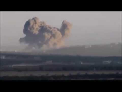 シリア。アサド政権の空爆2015/10 Syria. Aerial bombardment of Assad political power