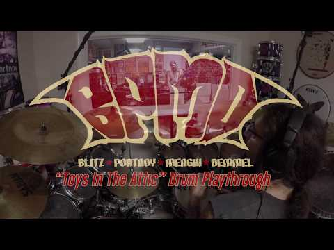 BPMD - Toys In The Attic (Drum Playthrough Video) | Napalm Records