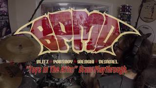 BPMD – Toys In The Attic (Drum Playthrough Video) | Napalm Records