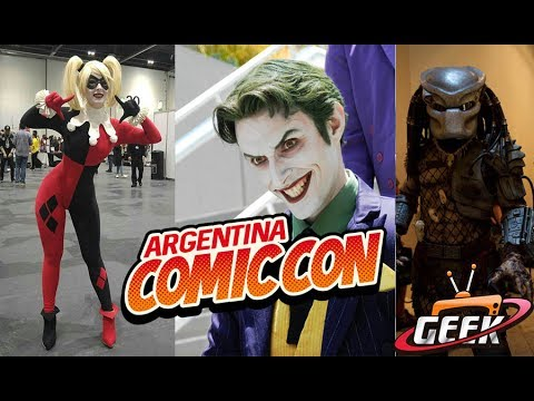 Comic con 2017 Argentina Cosplay