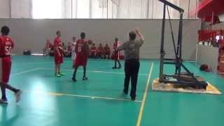 CBA U14 vs Bosnia Semi Final