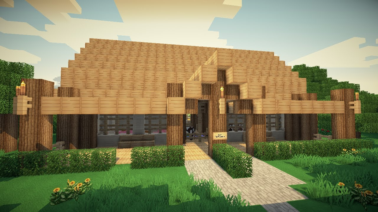 Minecraft Barn YouTube