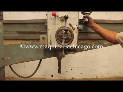mv17444 taladro drill south bend usado maquinaria used machinery