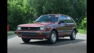 1983 Honda Civic 1500dx For Sale - Test Drive Video (80K Miles)