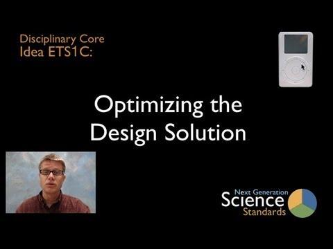 ETS1C - Optimizing the Design Solution